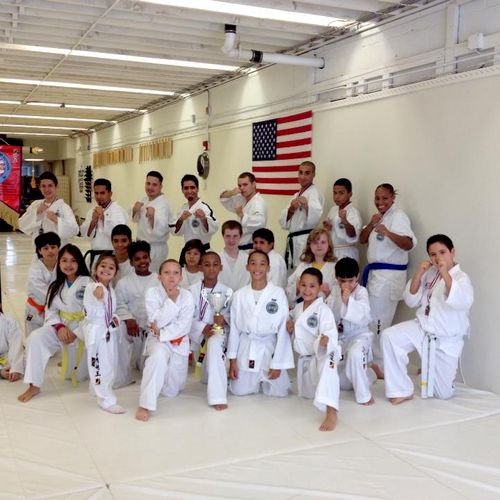 Olympic Taekwondo Team - First Place Overall in New York Big Apple International Championship.
