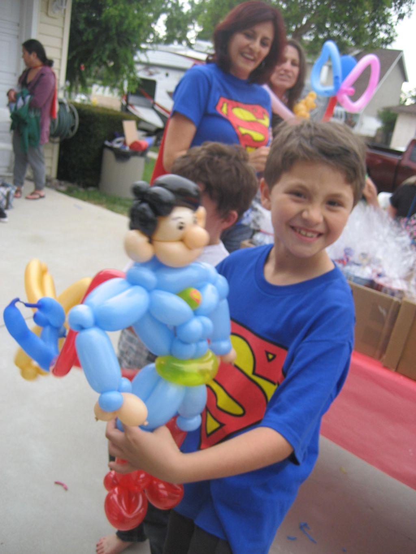 David, Cleo, and their Balloon Animal Crew