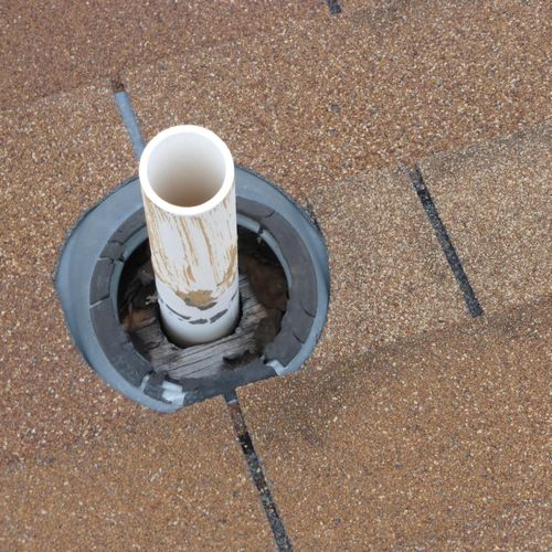 This is a good reason to inspect roofs from the roof.