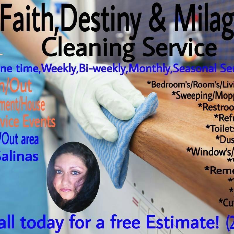Faith, Destiny & Milagros Cleaning Services