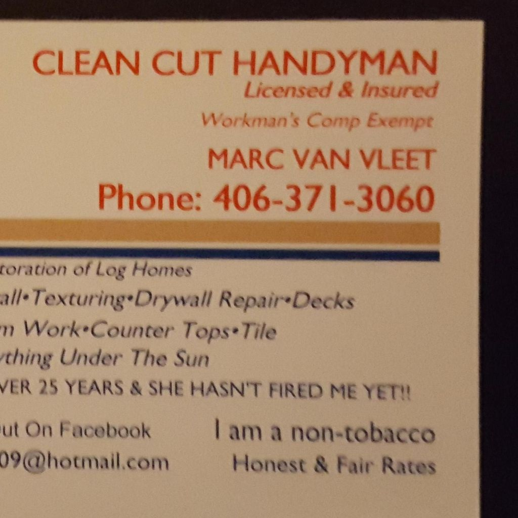 Clean Cut Handyman LLC