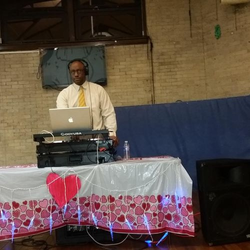 Playing at the 2016 School #20 Valentine's Dance