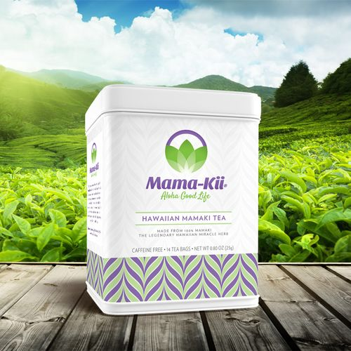 Mama-Kii Herbal Tea Branding / Packaging Design