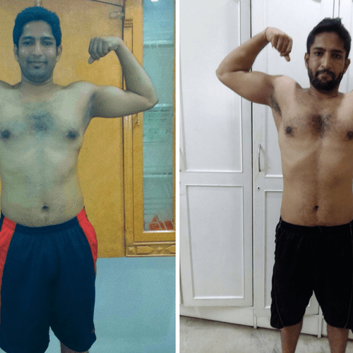 Datta received the guidance he was looking for gaining muscle and strength while dropping body fat.