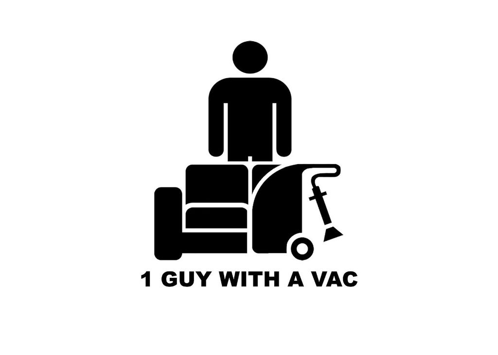 1 GUY WITH A VAC