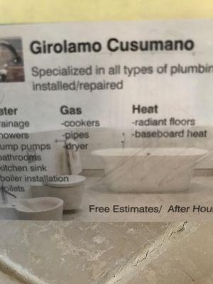 Avatar for Cusumano Plumbing Allentown, PA Thumbtack