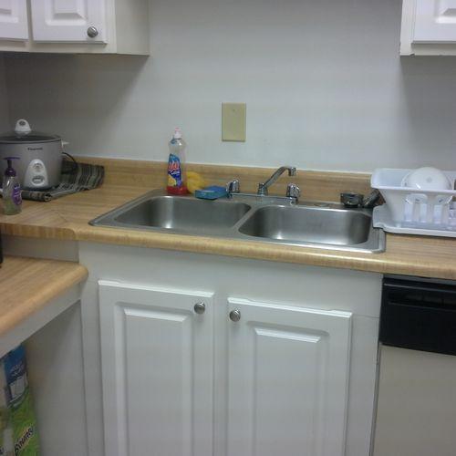 kitchen sink  AFTER