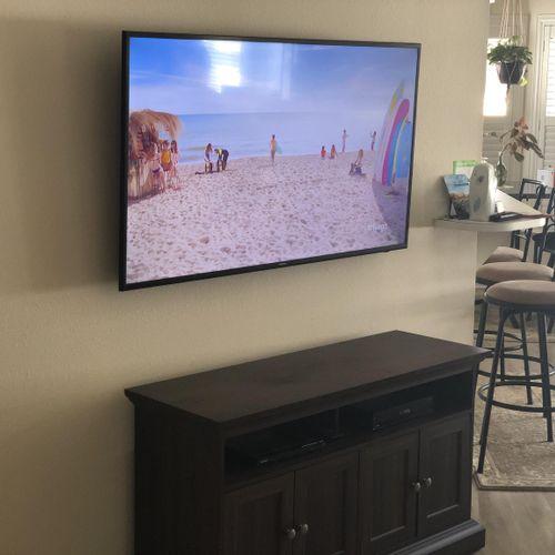 """Tv install 55"""""""