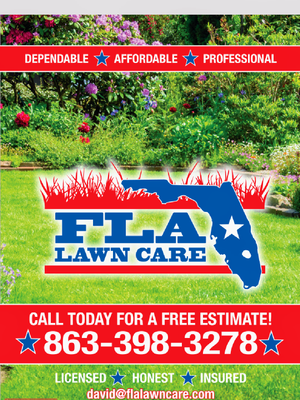 Avatar for Fla Lawn Care Lakeland, FL Thumbtack