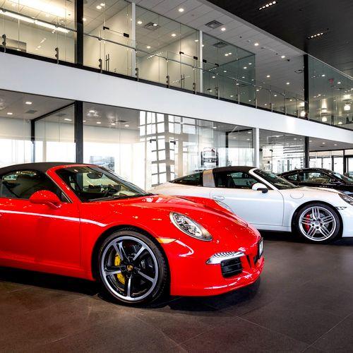 Porsche of Bellevue, Architectural and Automotive Photography