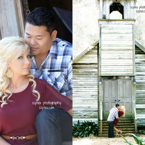 Adorable, vintage engagement session at an area with an historic chapel. New Iberia, La. ccpixx.com