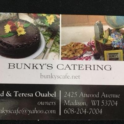 Avatar for Bunky's Catering Madison, WI Thumbtack