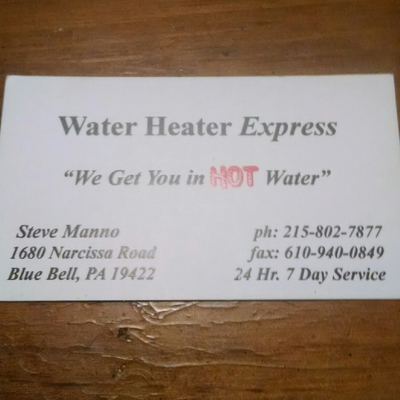 Avatar for Water Heater Express Blue Bell, PA Thumbtack