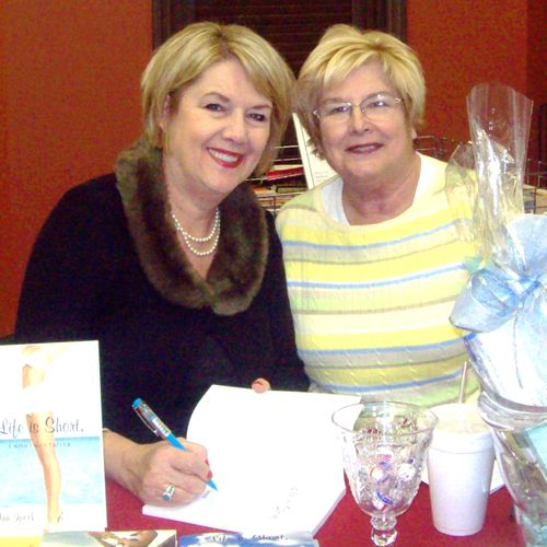 A booksigning in Jacksonville, NC.