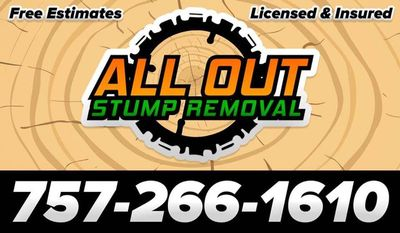 Avatar for All Out Stump Removal Virginia Beach, VA Thumbtack