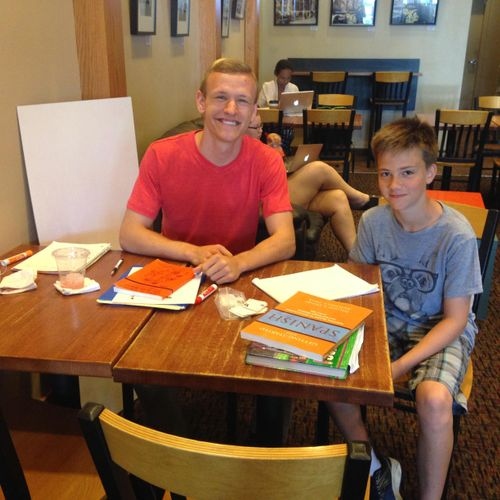 Luke is making amazing progress as a complete beginner in the Spanish language!