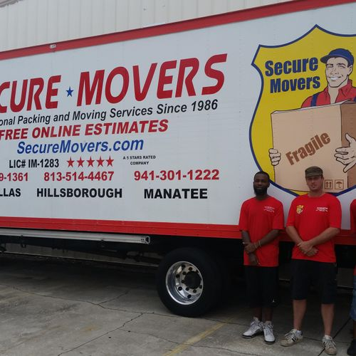 Secure Movers/Truck