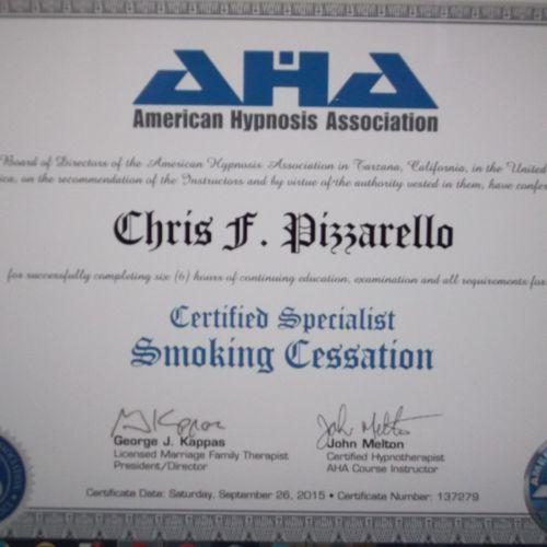 Smoking Cessation Specialist Certification