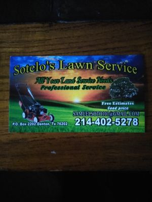Avatar for Sotelo's Lawn Service Denton, TX Thumbtack