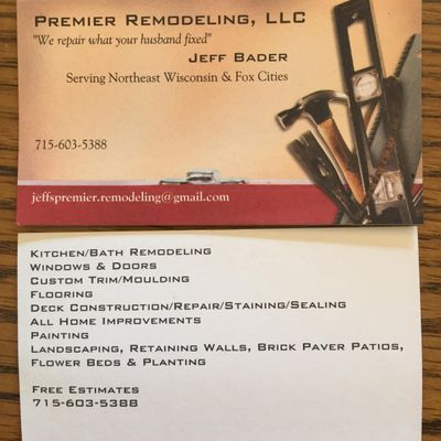 Avatar for Premier Remodeling, LLC Appleton, WI Thumbtack
