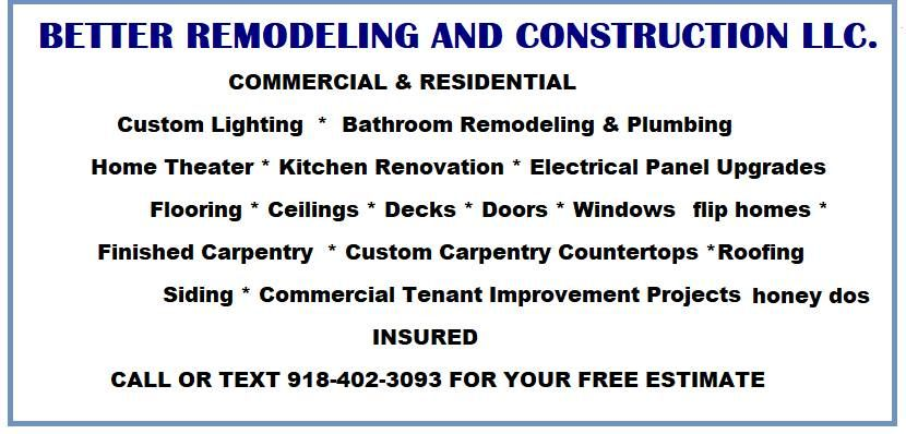 Better Remodeling & Construction llc.