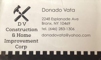 Avatar for Dv Construction and Home Improvement Bronx, NY Thumbtack