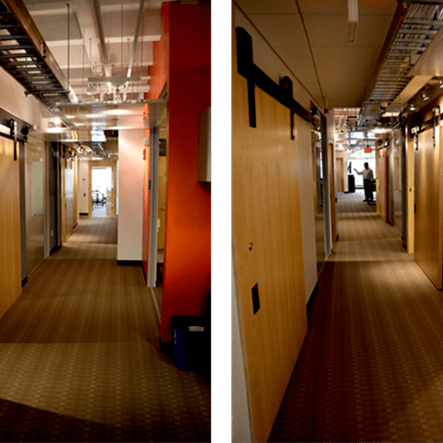 4,500sf Media Lab Fit-Up in Cambridge, MA (2007)