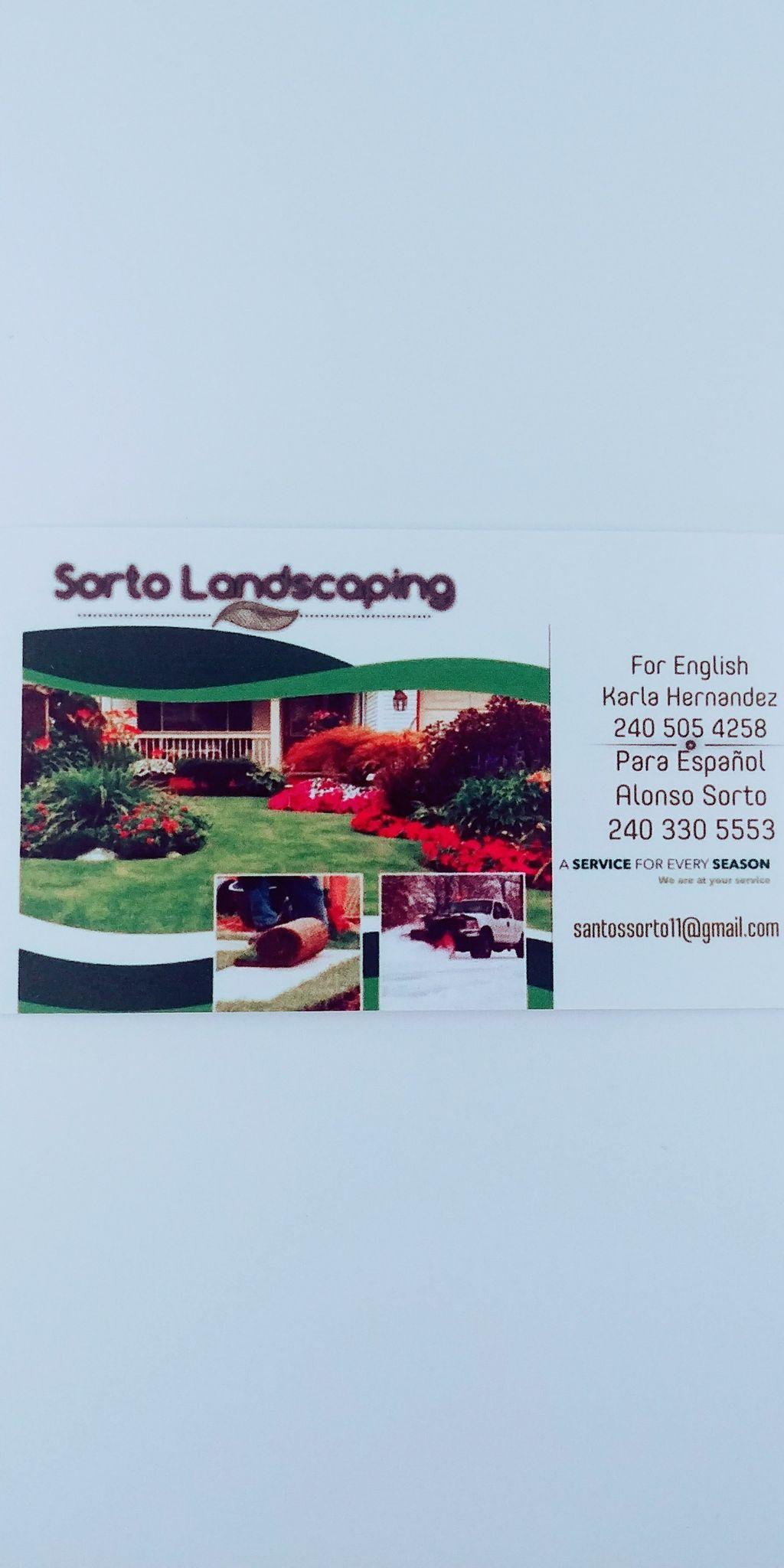 Sorto landscaping