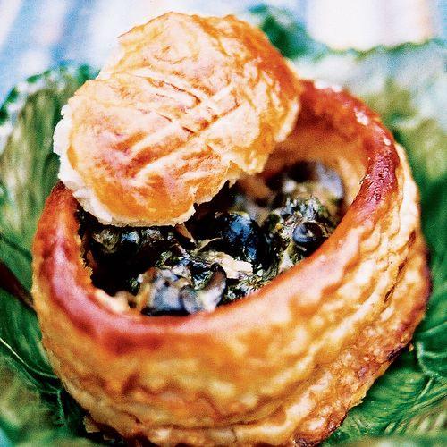Escargot in Herbed Cream