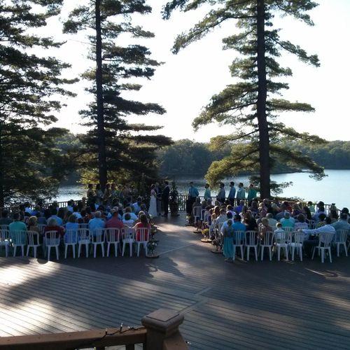 Wedding Ceremony   Camp Canadensis   Canadensis PA