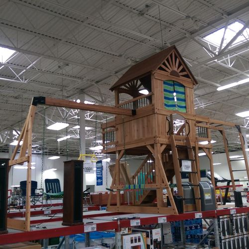 Oceanview Playset Assembled in Sam's
