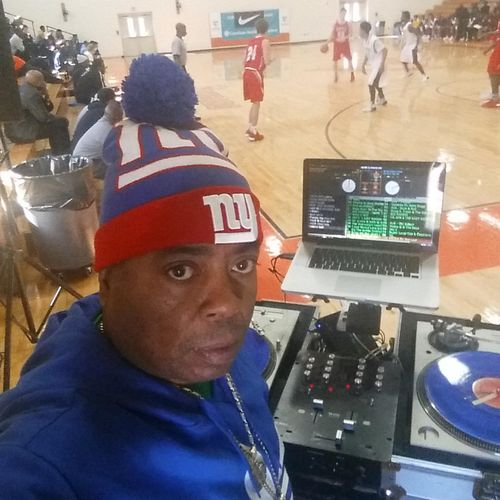 Ready for the halftime show Dj Mike D