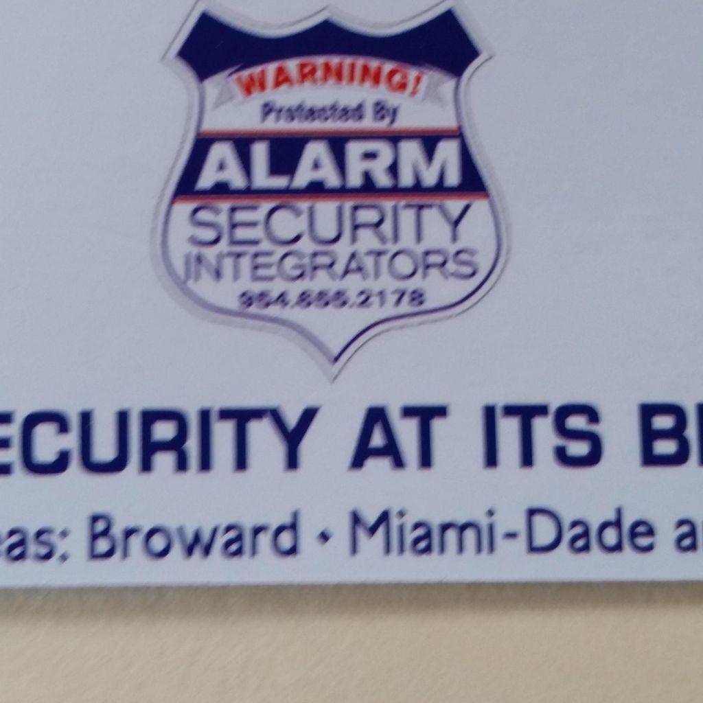 Alarm Security Integrators LLC