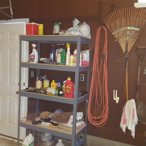 What is in the attached garage ends up in the home.