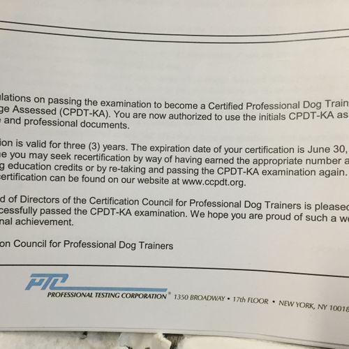 Profile on CCPDT website: ccpdt.org/dog-owners/certified-dog-trainer-directory/profile/2164275/