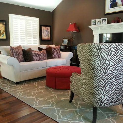 Pet Friendly Living Room