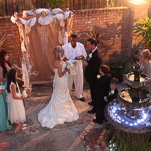 Beautiful Ceremony Bay St. Louis MS.