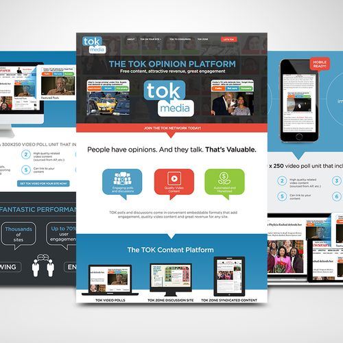 Promotional website and branding for Adtech start-up company.