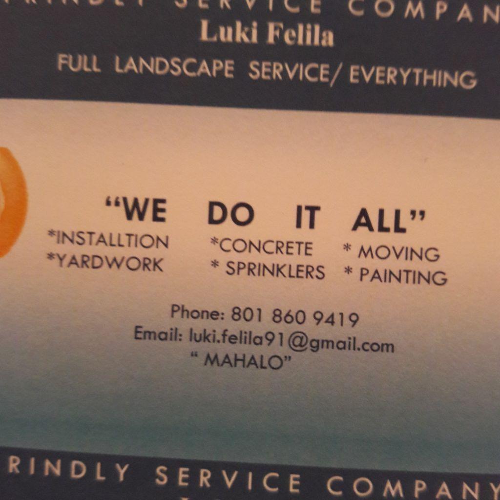 Friendly Service   company