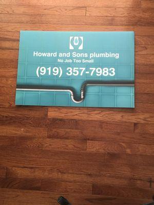 Avatar for Howard & Sons Plumbing Timberlake, NC Thumbtack