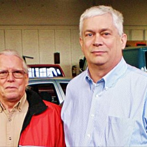Neal Ailstock, owner of Seatco, a great auto upholstery shop in Springfield, VA, and one of our clients.