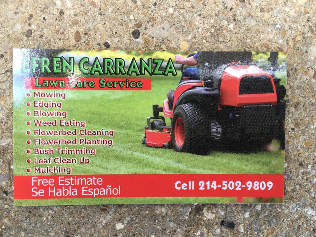 Efren Carranza Lawn Care