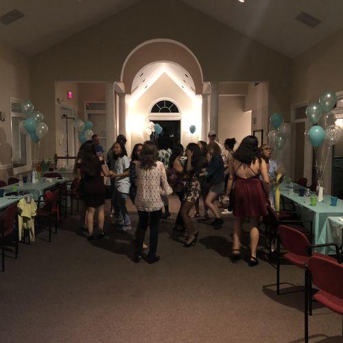 Savanna Box 18th Birthday Party
