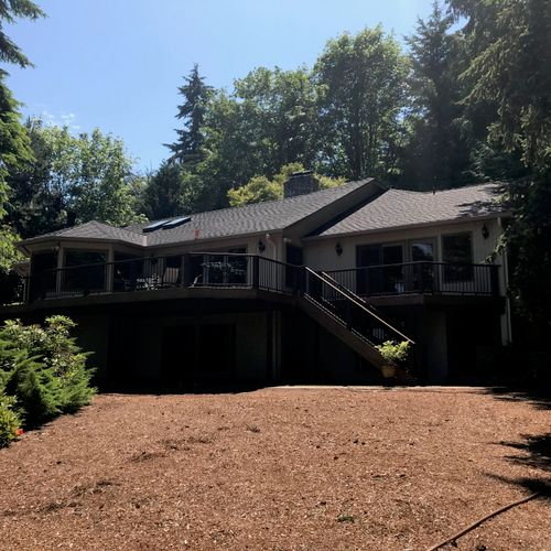 Cougar Mountain residential client