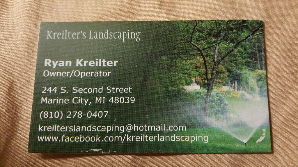 Kreilter's Landscaping