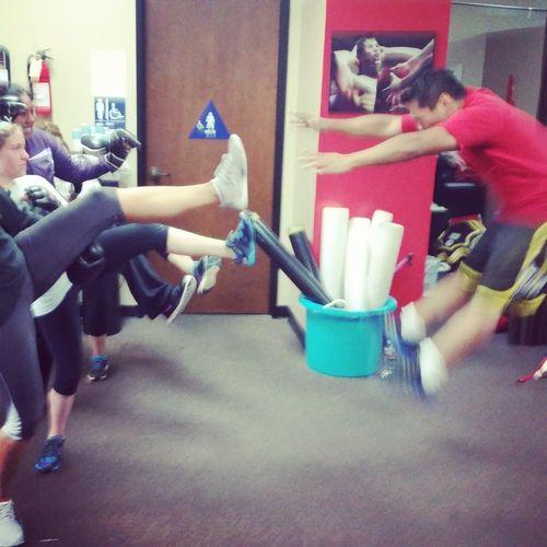 Kickboxing Fun!