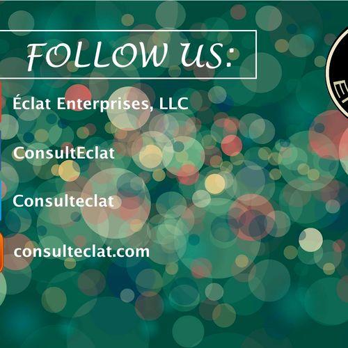 Find us, like us, follow us. Please.