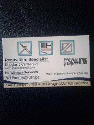 Avatar for Renovation Specialist & Handyman Services