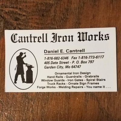 Avatar for Cantrell Iron Works