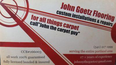 Avatar for John Goetz flooring